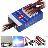 Buy 12 LED Lighting Kit Steering Brake Simulation Flash Light for 1/10 Yokomo Tamiya HSP HPI RC Car, Topacc