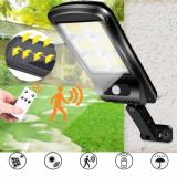 Buy COB LED Solar Power PIR Motion Sensor Wall Light Outdoor Garden Security Lamp, Banggood