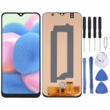 Buy OLED Material LCD Screen and Digitizer Full Assembly for Samsung Galaxy A30s SM-A307