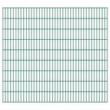 Buy 2D Garden Fence Panels 2.008x1.83 m 36 m (Total Length) Green