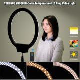 Buy YONGNUO YN608 3200K~5500K Bi-Color Temperature Wireless Remote LED Ring Video Light Annular and Frameless Appearance Design Adjustable Brightness CRI≥95 with Handle Grip Remote Controller for Portrait Live Video Selfie, TOMTOP